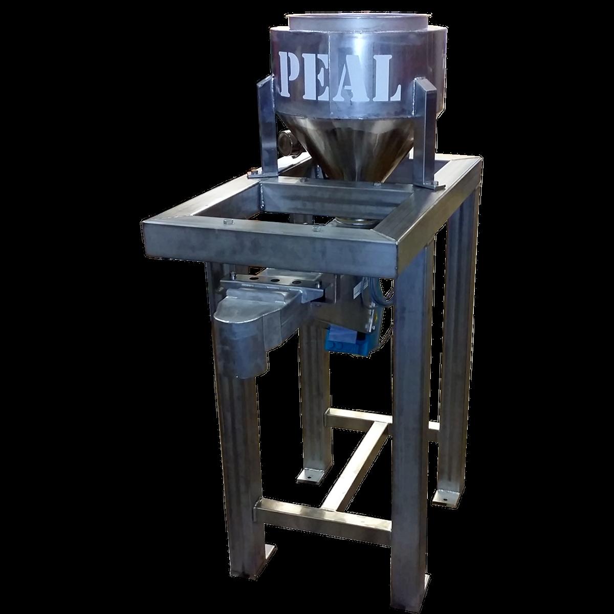 Dosering med vibromatare i rostfritt stål