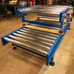 Driven rullbana för pallar upp till 1500kg