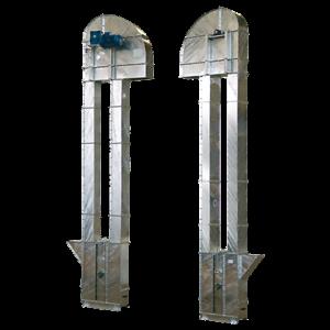 elevator för granulat och pulver