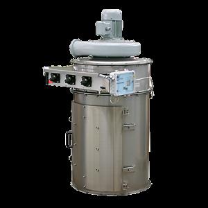 stoftfilter WAMFLO för negativt eller positivt tryck