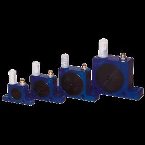 Kulvibrator S för högfrekvent fluidisering av material