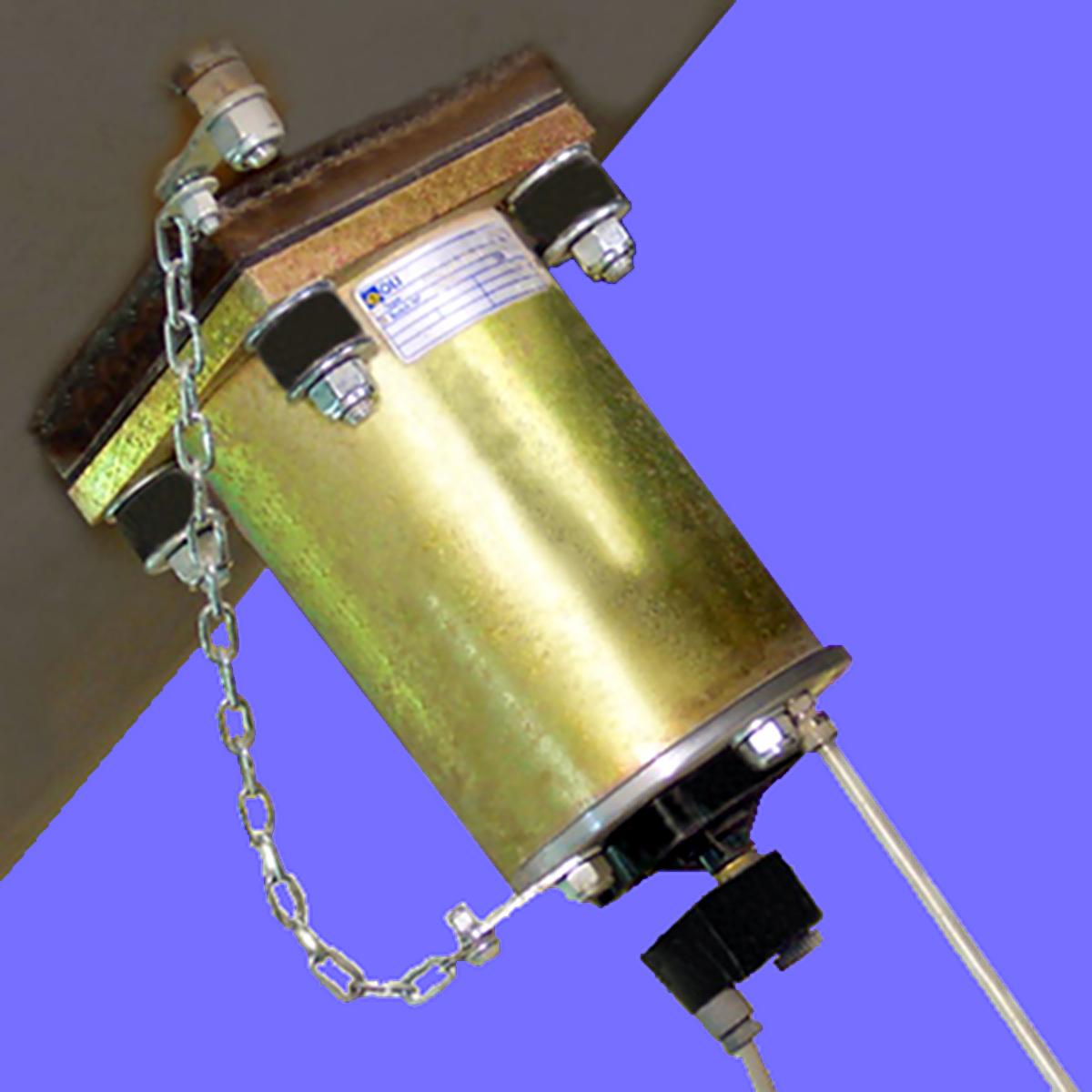Lufthammare PS ger en tryckvåg som fluidiserar material i silo och behållare