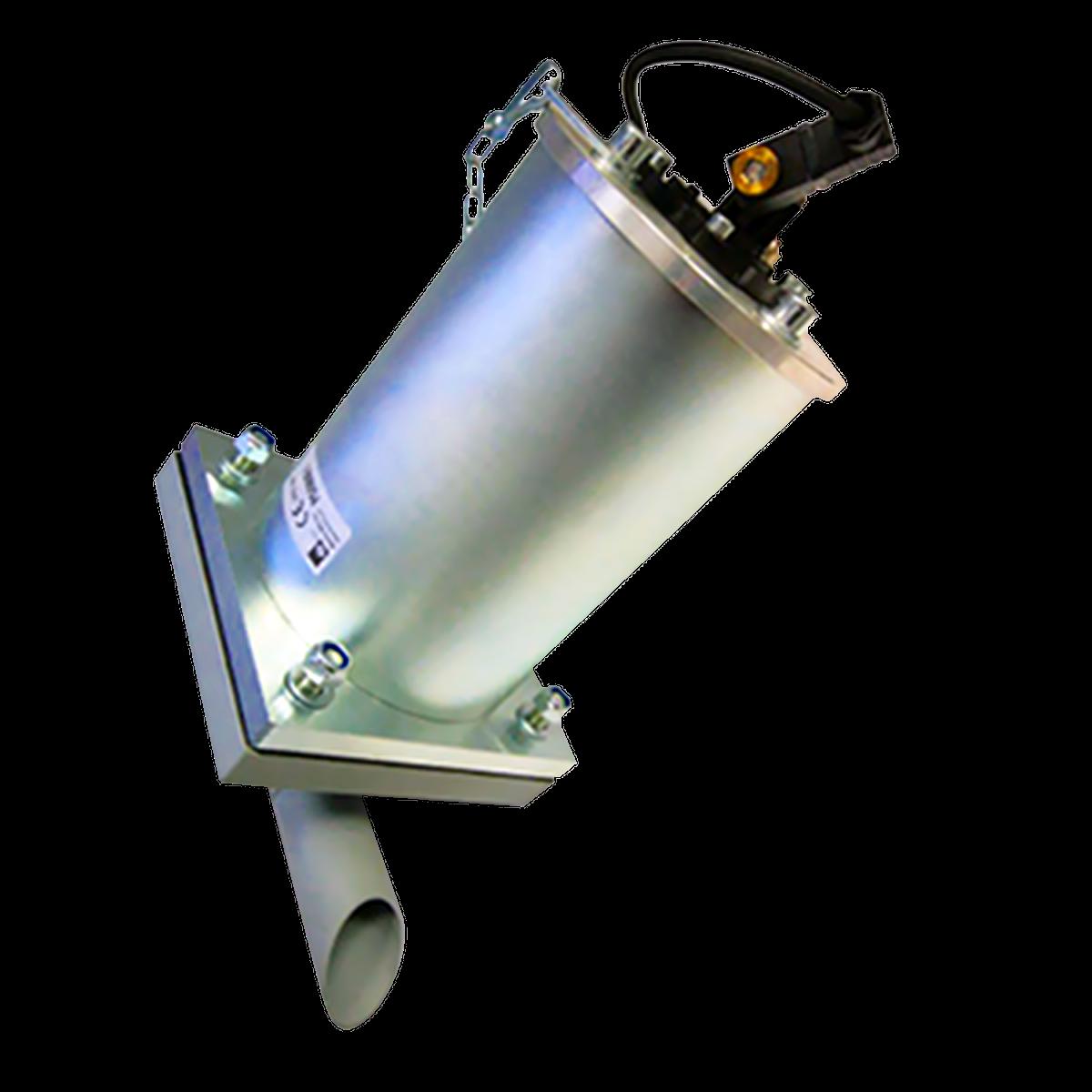 Luftkanon PG lossar material i silo och behållare