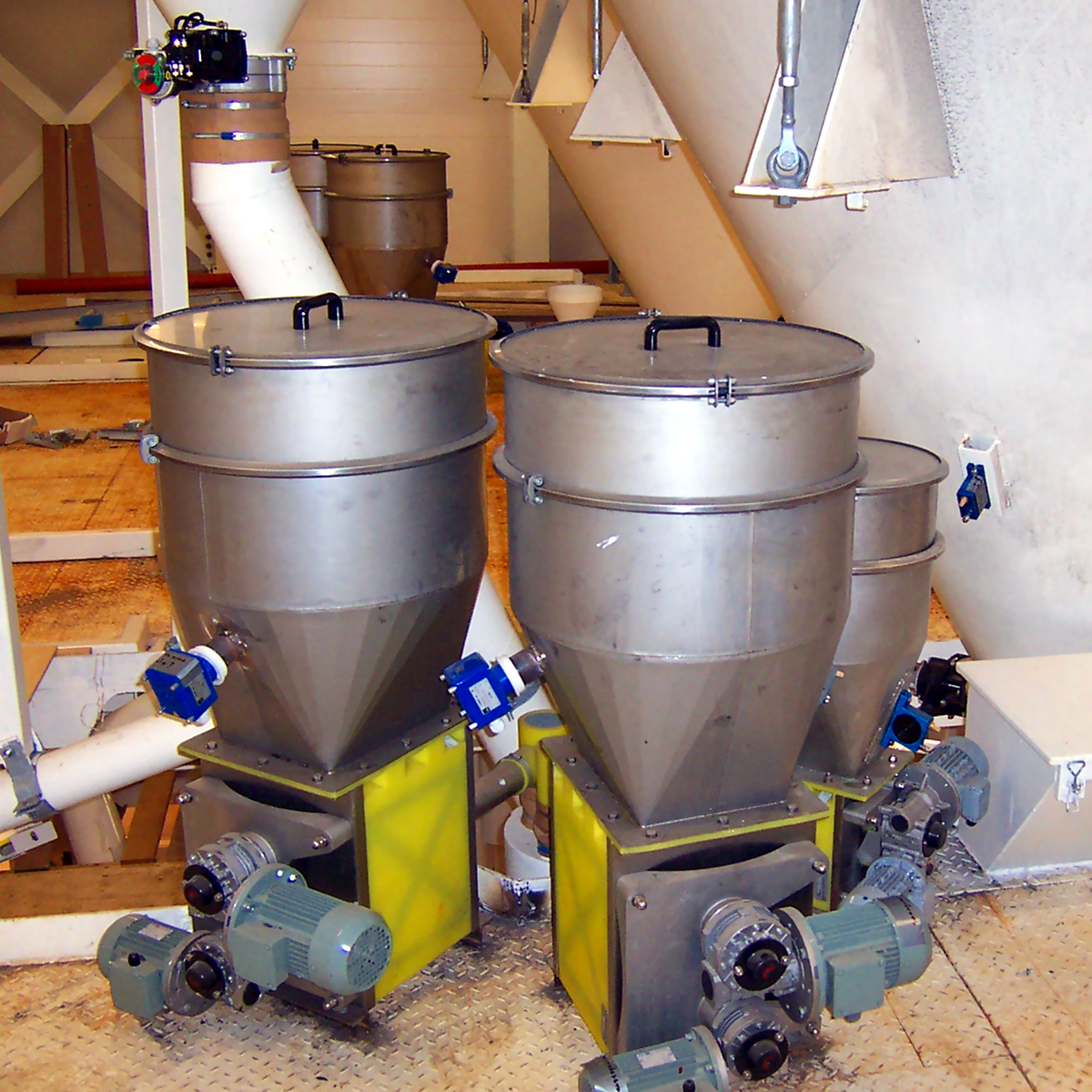 Mikrodoserare i torrbruksfabrik