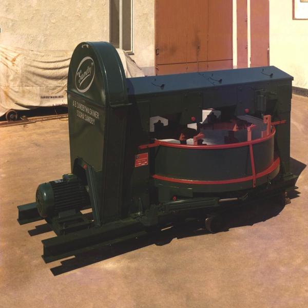 Planblandare för torrbruk Sandby SU1000