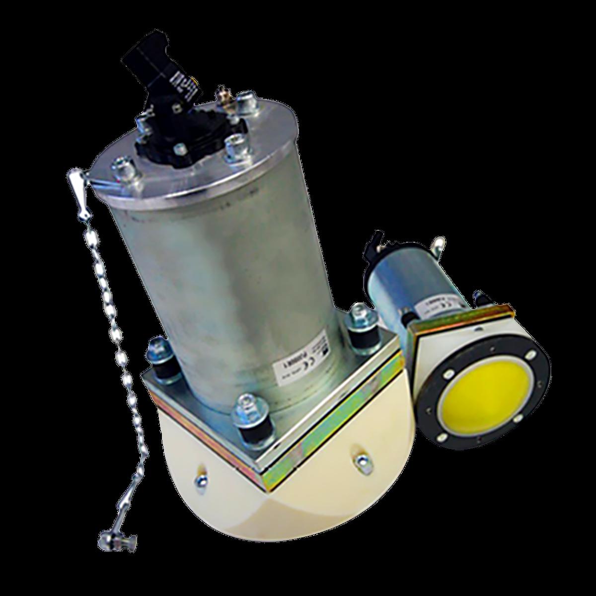Kombinationshammare PJ slår, vibrerar och blåser in luft i din silo eller behållare