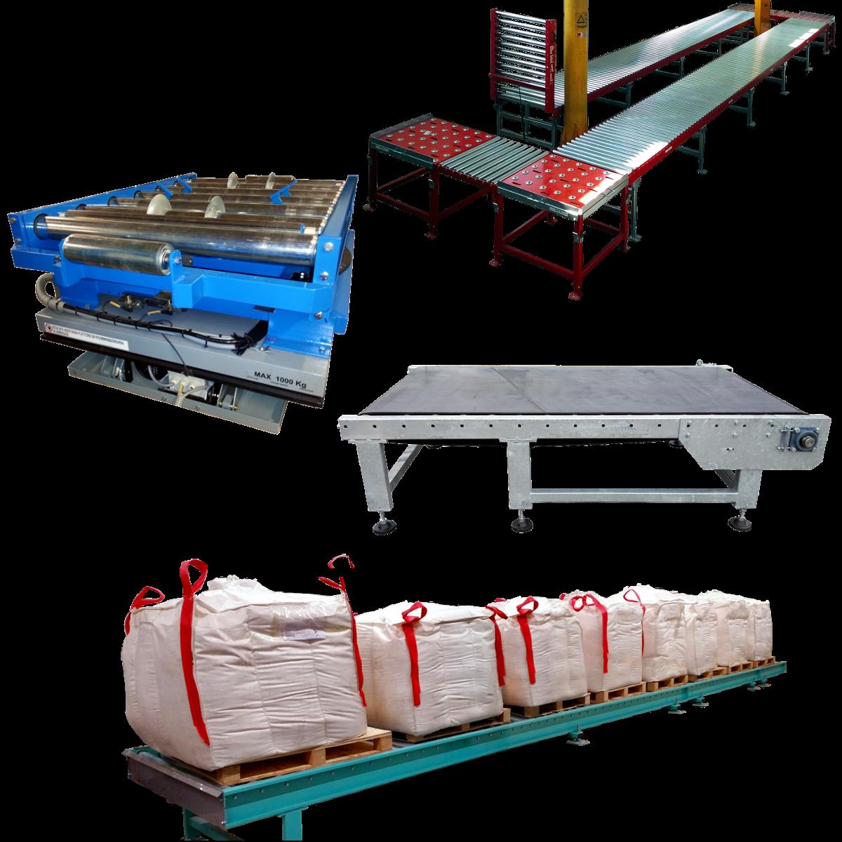 PEAL transportörer för materialhantering