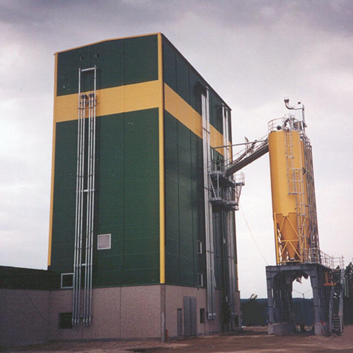 silotorn torrbruksfabrik