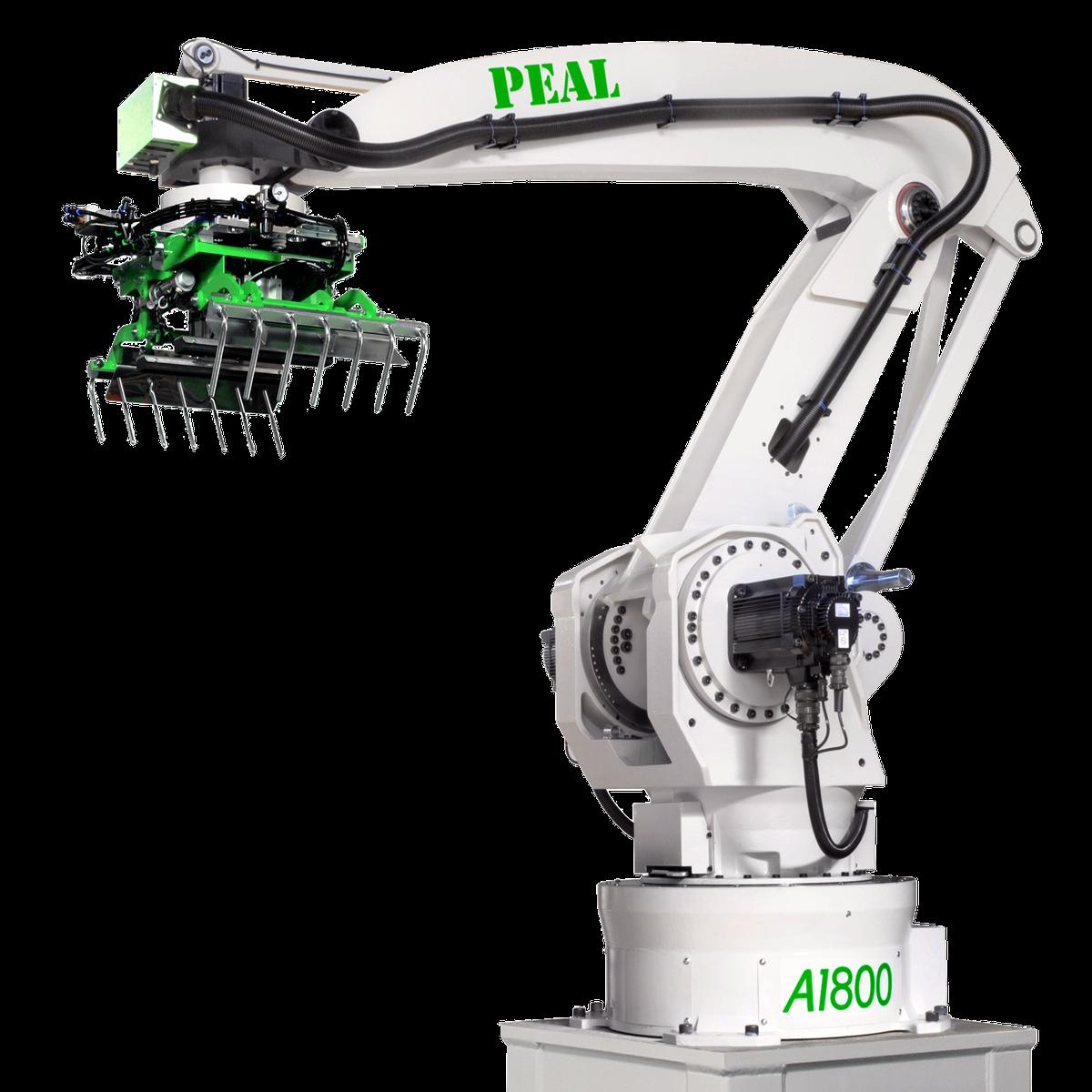 robot för palletering och depalletering med robot